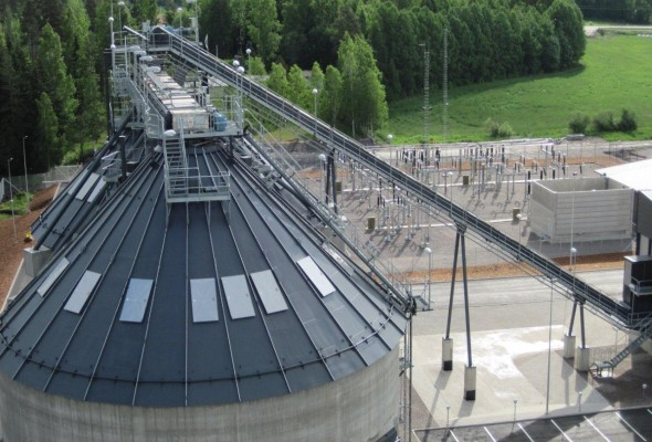 Finland. CHP Building Electrical Systems