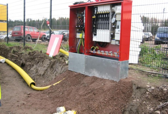 CHP Site Temporal Electrical Installations